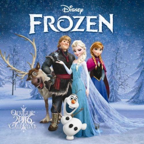 The Official Disney Frozen 2016 Square Calendar - cover
