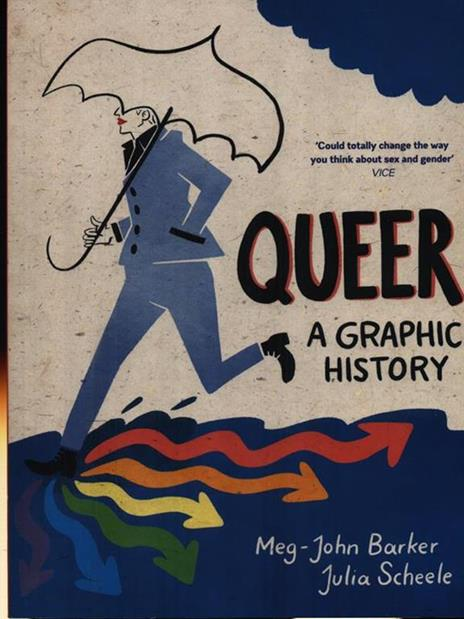 Queer: A Graphic History - Meg-John Barker - cover