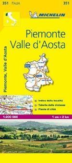 Piemonte, Valle d'Aosta 1:200.000