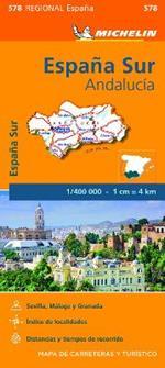 España Sur. Andalucía 1:400.000