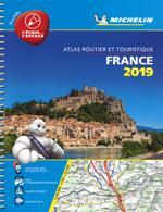 Francia. Atlante 20700 plastificato 2019. Ediz. a spirale