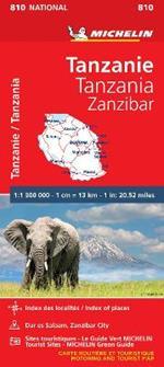 Tanzania Zanzibar 1:130.000