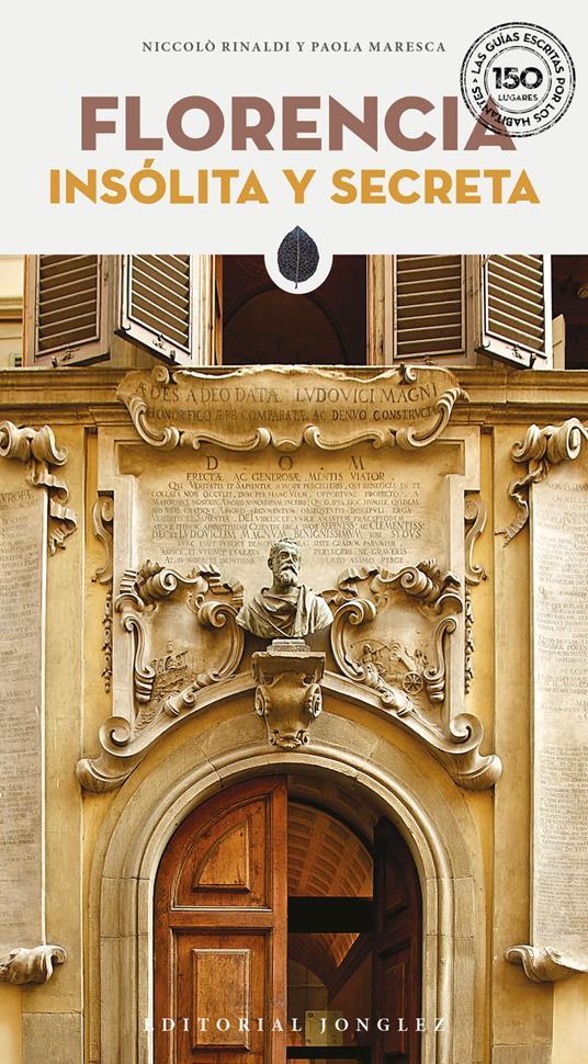 Florencia insolita y secreta - Niccolò Rinaldi - copertina
