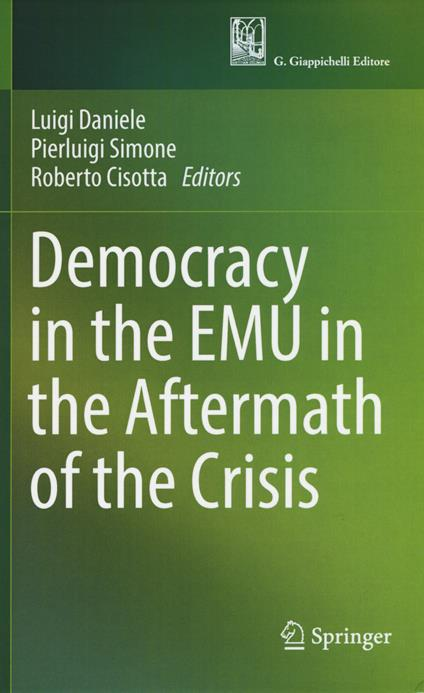 Democracy in the EMU in the aftermath of the crisis - copertina