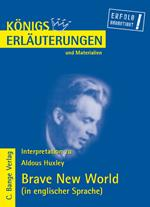 Brave New World von Aldous Huxley. Textanalyse und Interpretation in englischer Sprache.