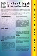 English grammar. Blokehead easy study guide