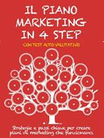 IL PIANO MARKETING IN 4 STEP. Strategie e passi chiave per creare piani di marketing che funzionano.
