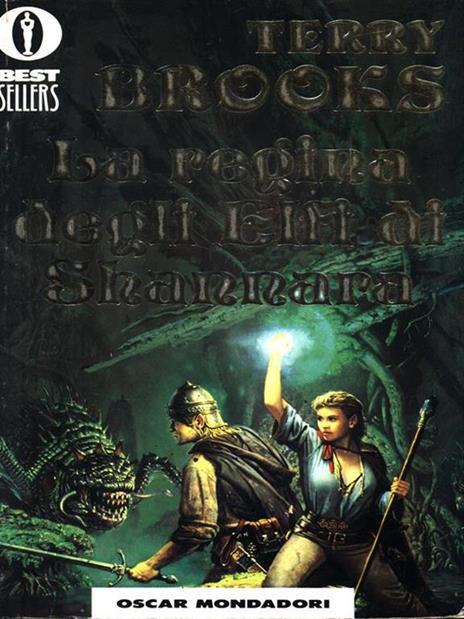 La regina degli elfi di Shannara - Terry Brooks - copertina