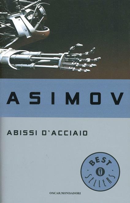 Abissi d'acciaio - Isaac Asimov - copertina