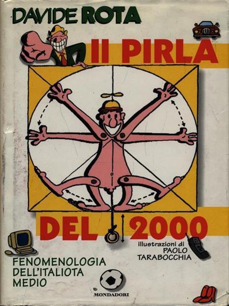 Il pirla del 2000 - Davide Rota - copertina