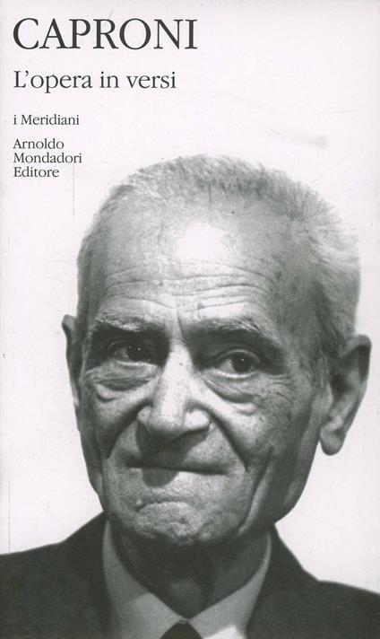 L' opera in versi - Giorgio Caproni - copertina