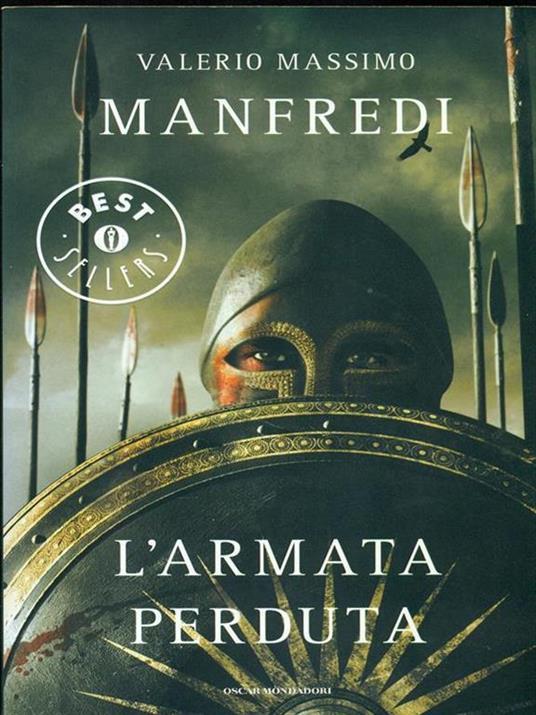 L' armata perduta - Valerio Massimo Manfredi - copertina