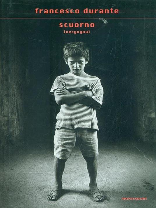 Scuorno (vergogna) - Francesco Durante - copertina