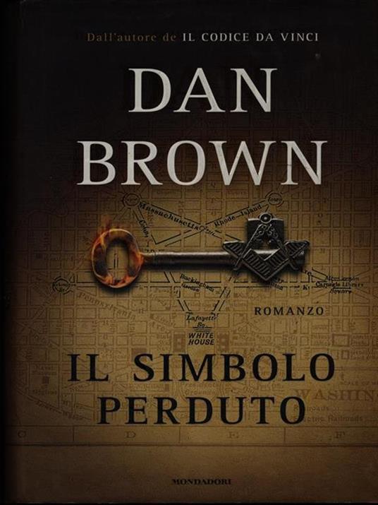 Il simbolo perduto - Dan Brown - copertina