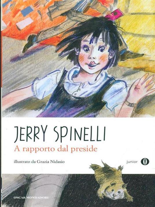 A rapporto dal preside - Jerry Spinelli - copertina