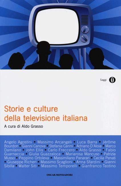 Storie e culture della televisione italiana - copertina