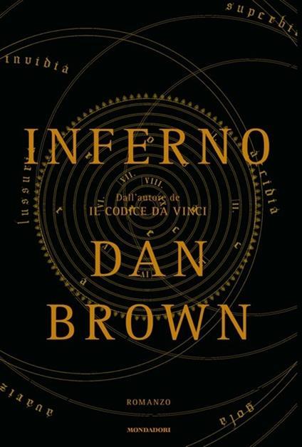 Inferno - Dan Brown - copertina