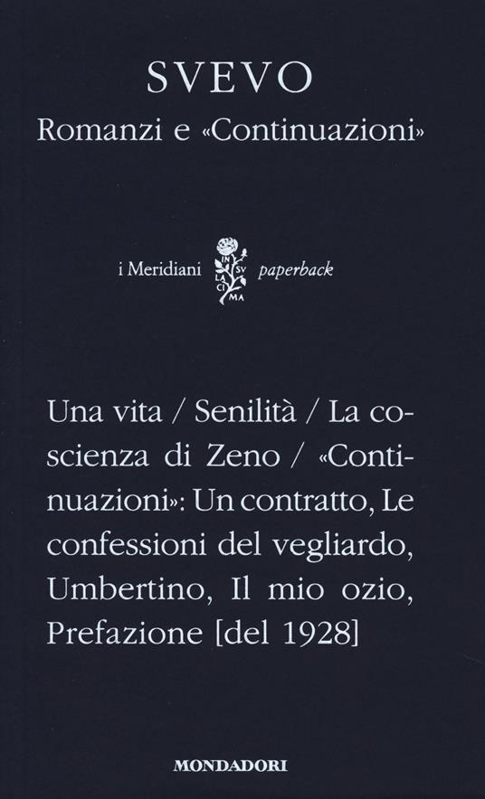 Romanzi-Continuazioni - Italo Svevo - copertina