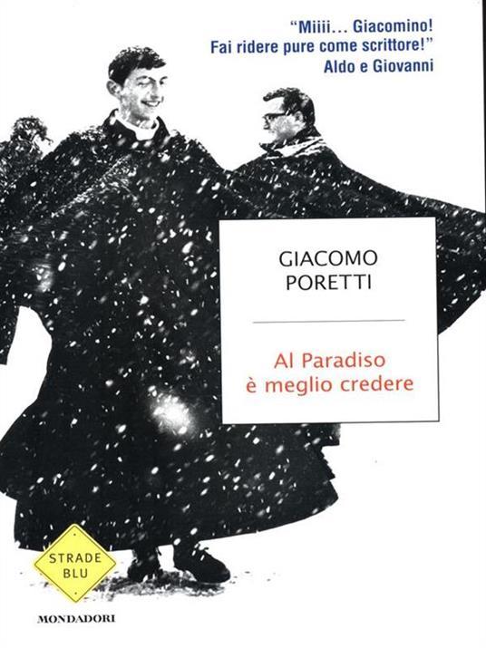 Al Paradiso è meglio credere - Giacomo Poretti - copertina