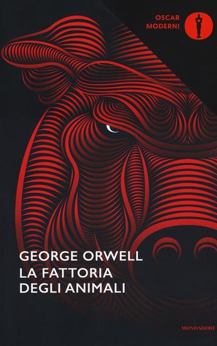 La fattoria degli animali - George Orwell - copertina
