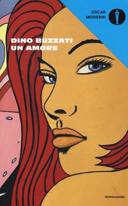 Un amore - Dino Buzzati - copertina