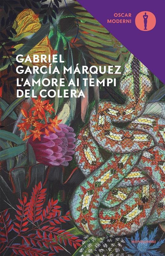 L' amore ai tempi del colera - Gabriel García Márquez - copertina