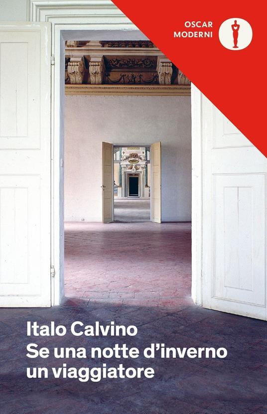 Se una notte d'inverno un viaggiatore - Italo Calvino - copertina