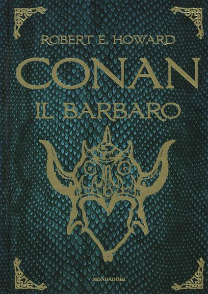 Conan il barbaro - Robert E. Howard - copertina