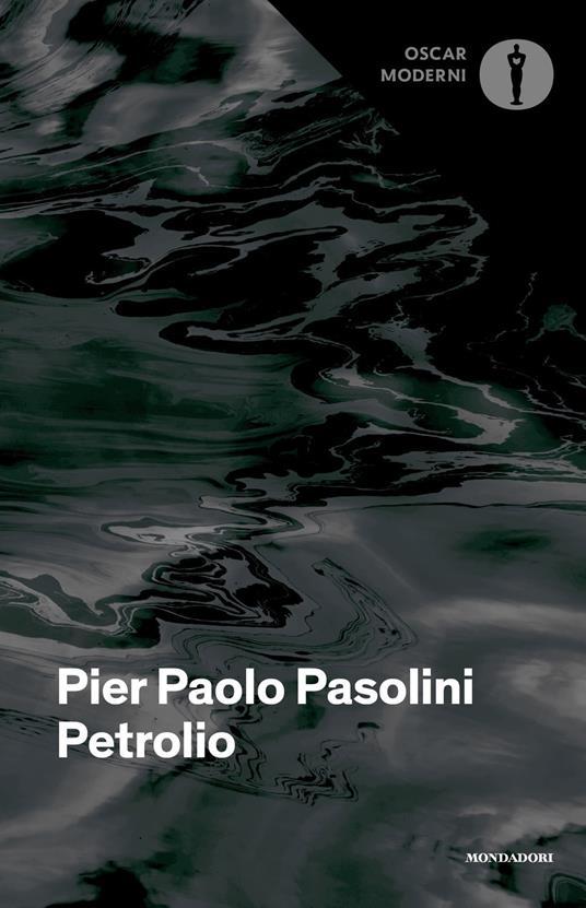 Petrolio - Pier Paolo Pasolini - copertina