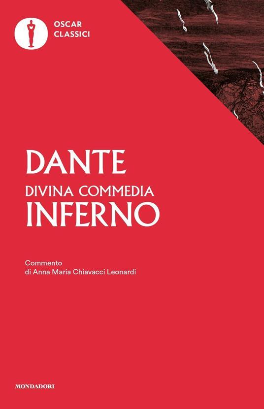 La Divina Commedia. Inferno - Dante Alighieri - copertina