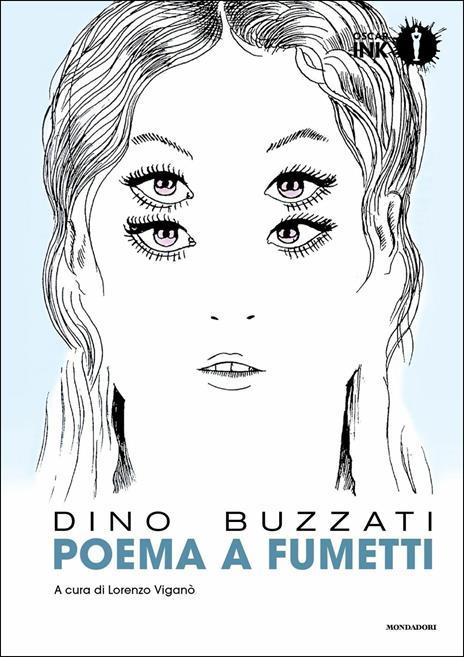Poema a fumetti - Dino Buzzati - copertina