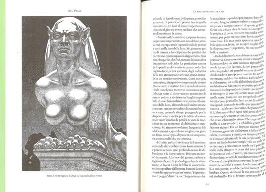 La fanta-scienza di H. G. Wells: La macchina del tempo-L'isola del dottor Moreau-L'uomo invisibile-La guerra dei mondi-I primi uomini sulla luna - Herbert George Wells - 2