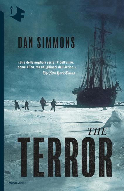 The terror - Dan Simmons - copertina