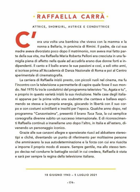 Storie della buonanotte per bambine ribelli. 100 donne italiane straordinarie - 19