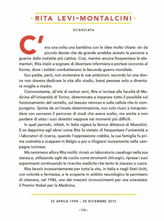 Storie della buonanotte per bambine ribelli. 100 donne italiane straordinarie - 21