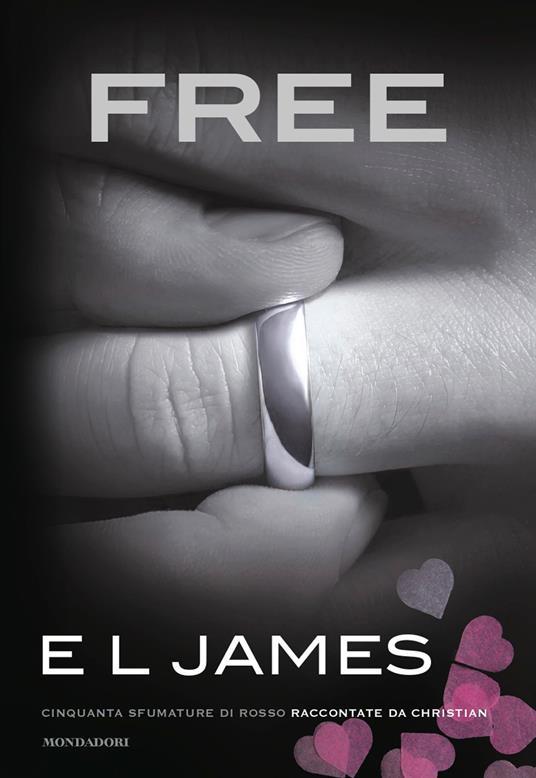 Free. Cinquanta sfumature di rosso raccontate da Christian - E. L. James - copertina