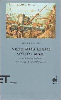 Ventimila leghe sotto i mari - Jules Verne - copertina