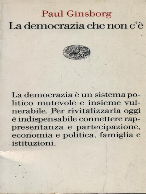 La democrazia che non c'è - Paul Ginsborg - 3