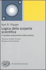 Logica della scoperta scientifica. Il carattere autocorrettivo della scienza