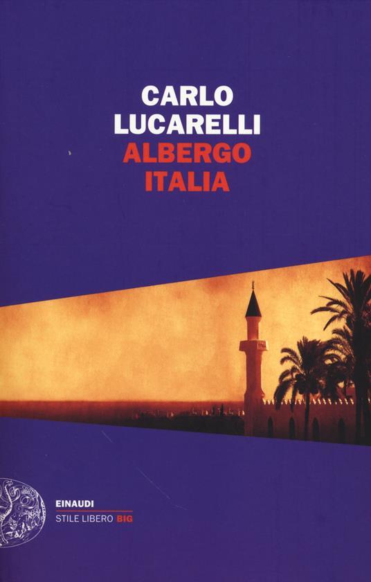 Albergo Italia - Carlo Lucarelli - copertina
