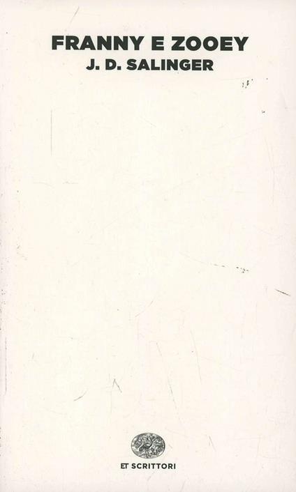 Franny e Zooey - J. D. Salinger - copertina