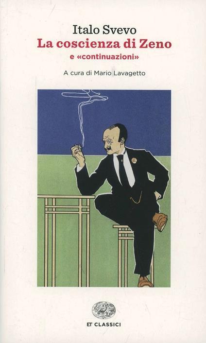 La coscienza di Zeno-Continuazioni - Italo Svevo - copertina