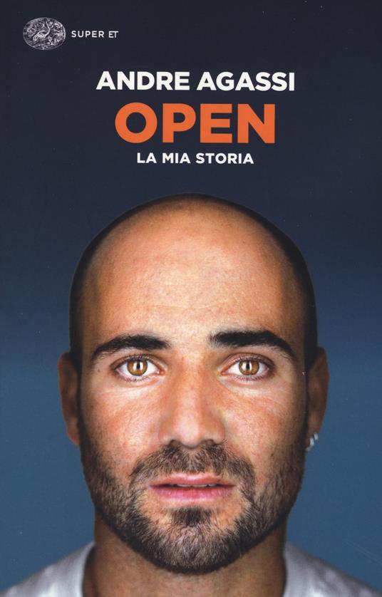 Open. La mia storia - Andre Agassi - copertina