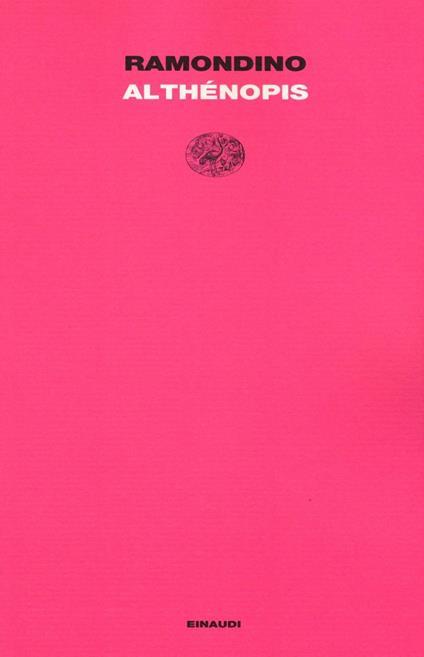 Althénopis - Fabrizia Ramondino - copertina