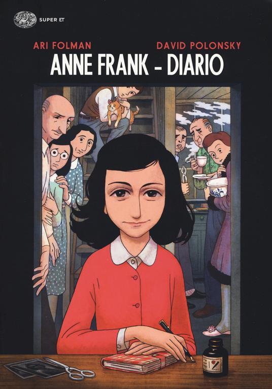 Anne Frank. Diario - Ari Folman,David Polonsky - copertina