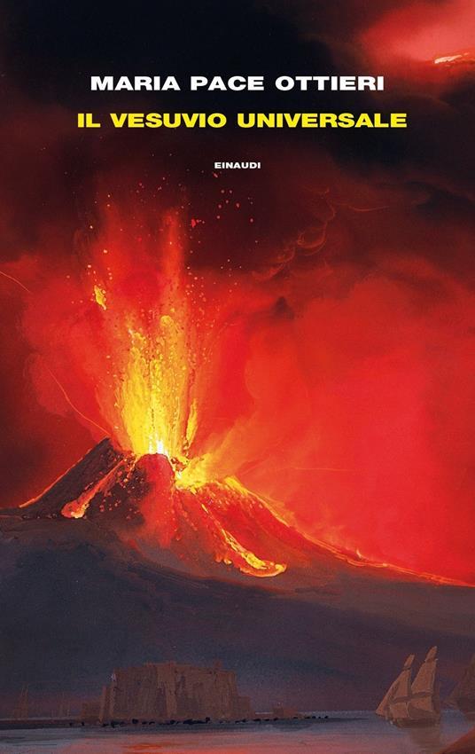 Il Vesuvio universale - Maria Pace Ottieri - copertina