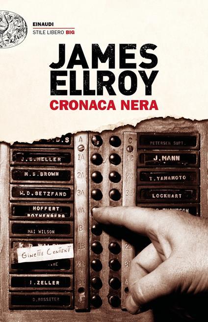 Cronaca nera - James Ellroy - copertina