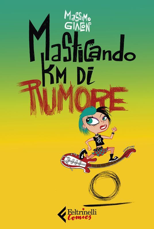 Masticando km di rumore - Massimo Giacon - copertina