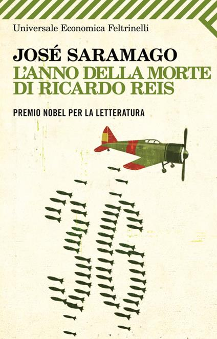 L' anno della morte di Ricardo Reis - José Saramago - copertina