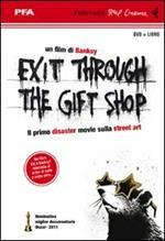 Exit through the gift shop. DVD. Con libro